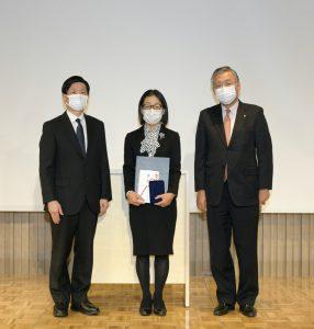 倉田なおみ先生(9回生)が昭和上條医療賞を受賞されました!