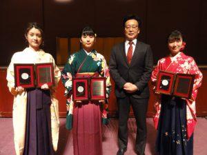 昭和大学卒業式が行われました。